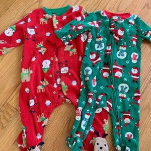 6-9 month Christmas PJs 🎄